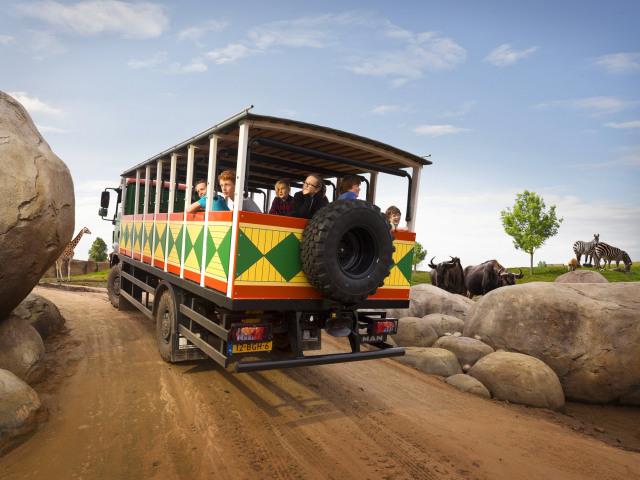 Dagje uit - Wildlands safari echt